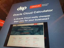 Oracle Cloud Calculator
