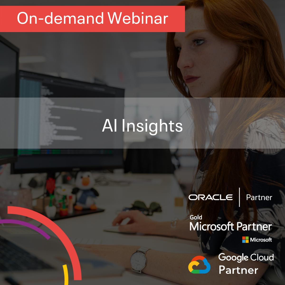 AI Insights On-Demand Webinar