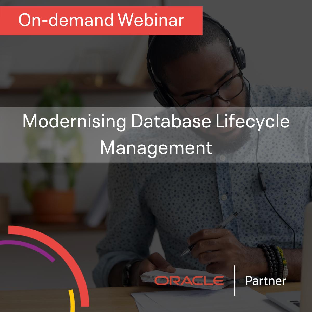 Modernising Database Lifecycle Management