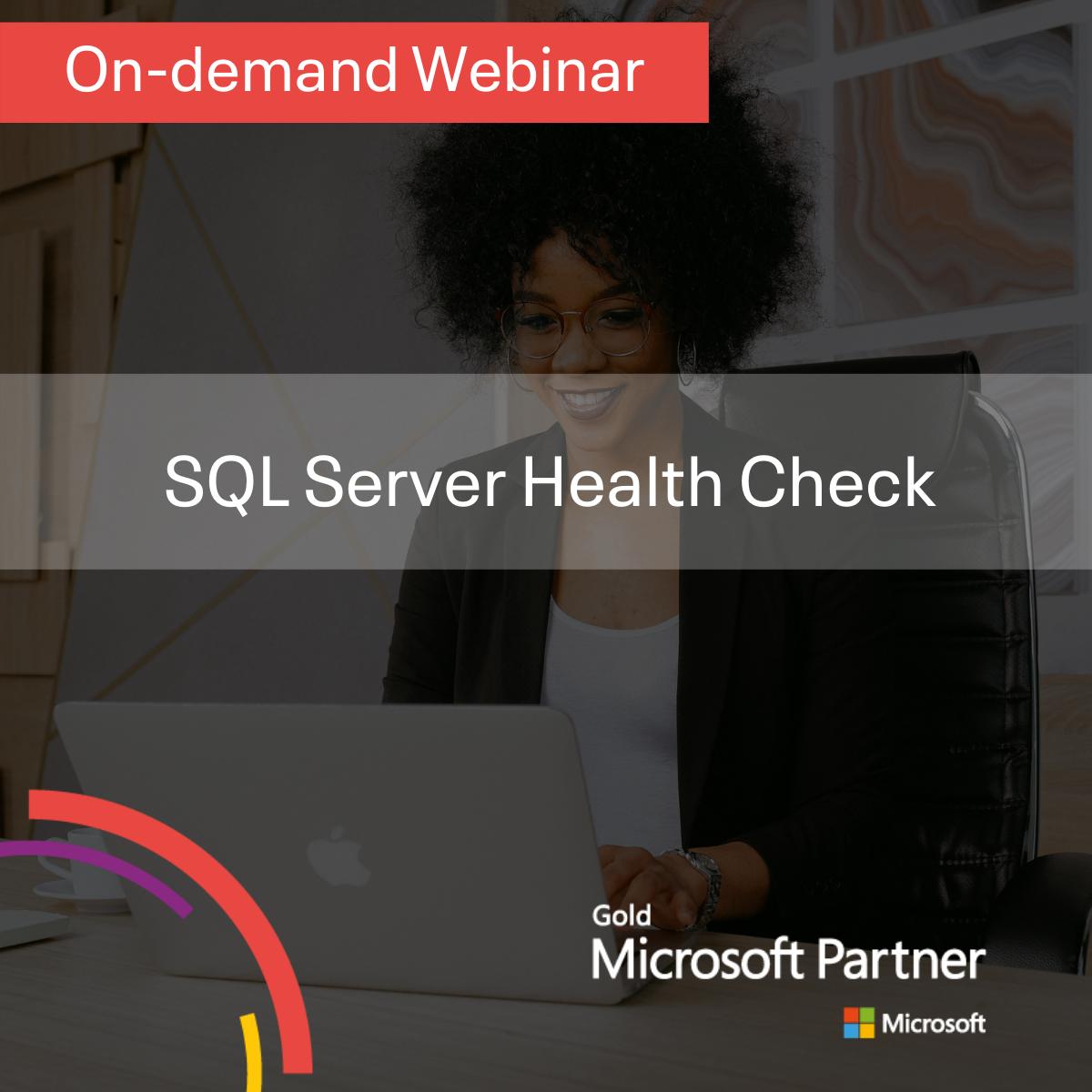 SQL Server Health Check