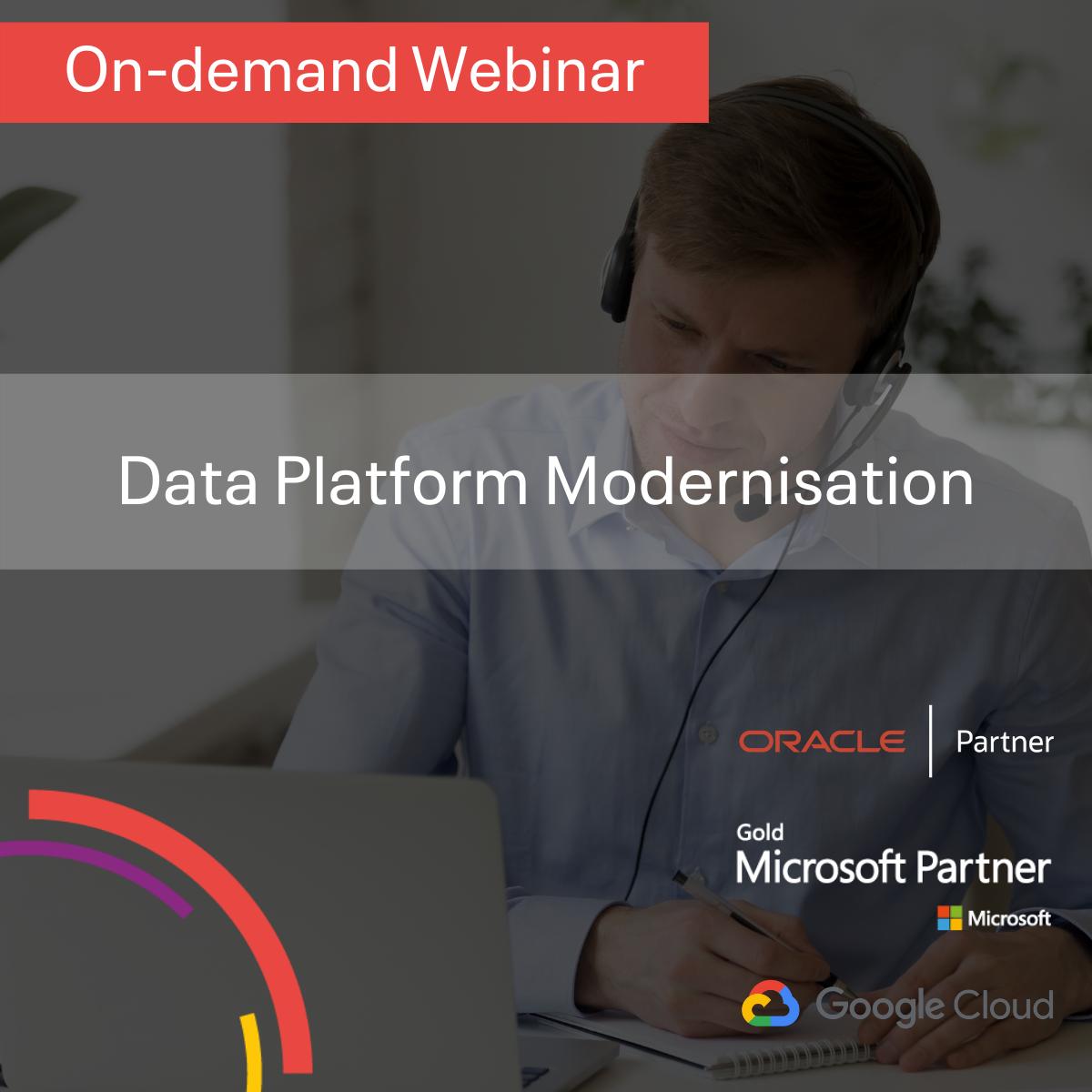 Data Platform Modernisation