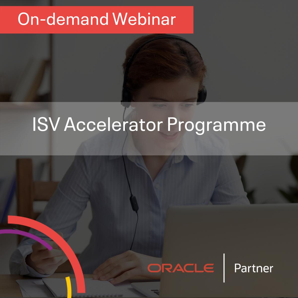 ISV Accelerator Programme