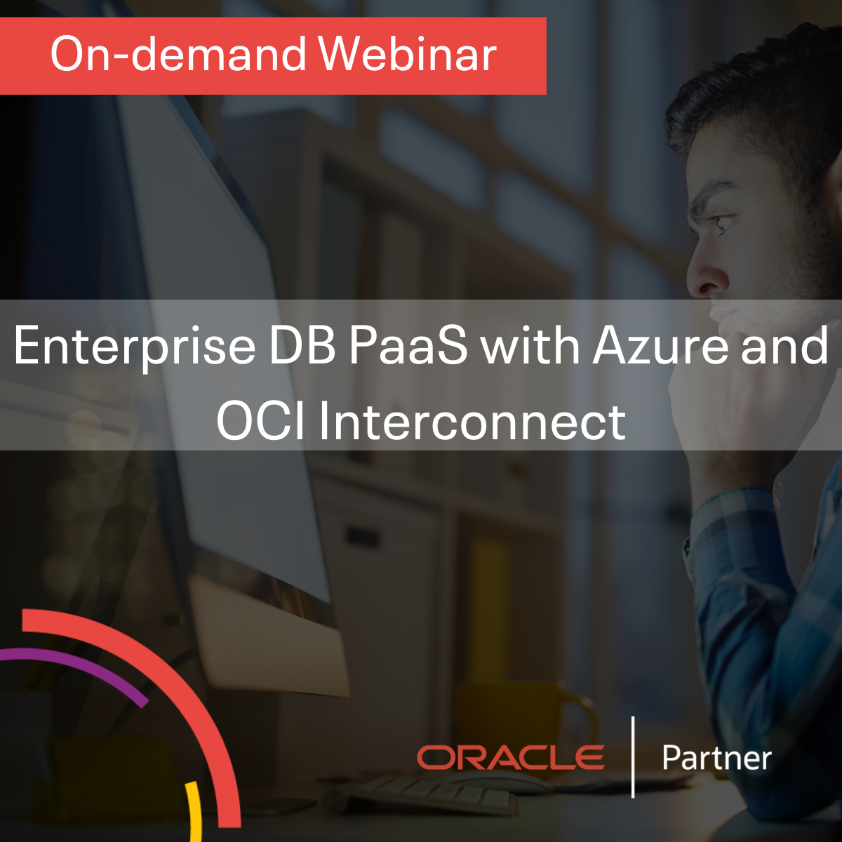 Enterprise DB PaaS with Azure and OCI Interconnect
